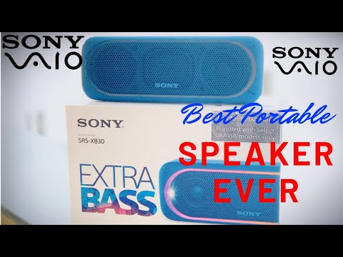Sony SRS xb30 unboxing and Review in hindi