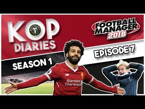 FM18 Kop Diaries - Mo Salah goes for another hattrick! Football Manager 2018 (Season 1 Ep 7)