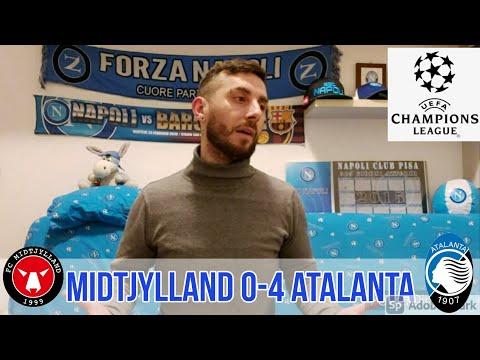 Midtjylland-Atalanta 0-4 Il Papu mi fa uscire pazzo!!!🤯