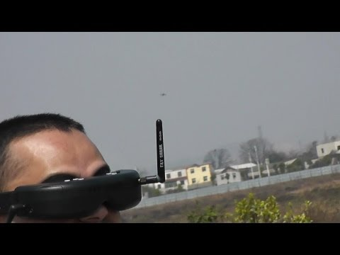 Walkera QR Ladybird V2 outdoor FPV with FatShark Goggles