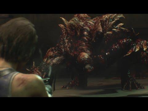 Resident Evil 3 Remake - Nemesis Boss Fight #3