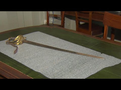 Col. Robert Gould Shaw's Missing Civil War Sword Found