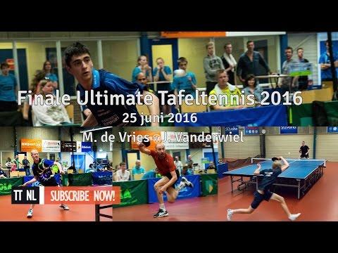 NK Ultimate 2016 FINALE: M. de Vries - J. Vanderwiel