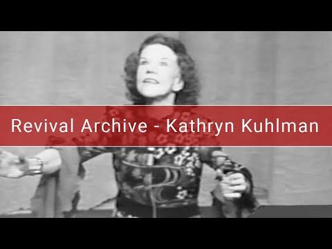 Kathryn Kuhlman   Knowing The Holy Spirit   Oklahoma - 1972