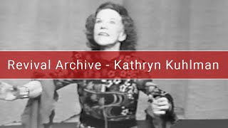 Kathryn Kuhlman | Knowing The Holy Spirit | Oklahoma - 1972