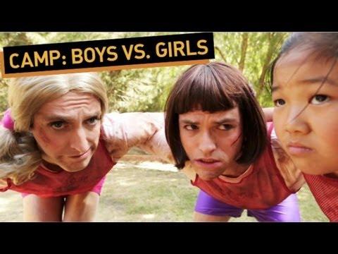CAMP: Boys vs Girls