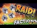 Minecraft Factions #254 - Epic Skeleton Spawner Raid! (Minecraft Raiding)