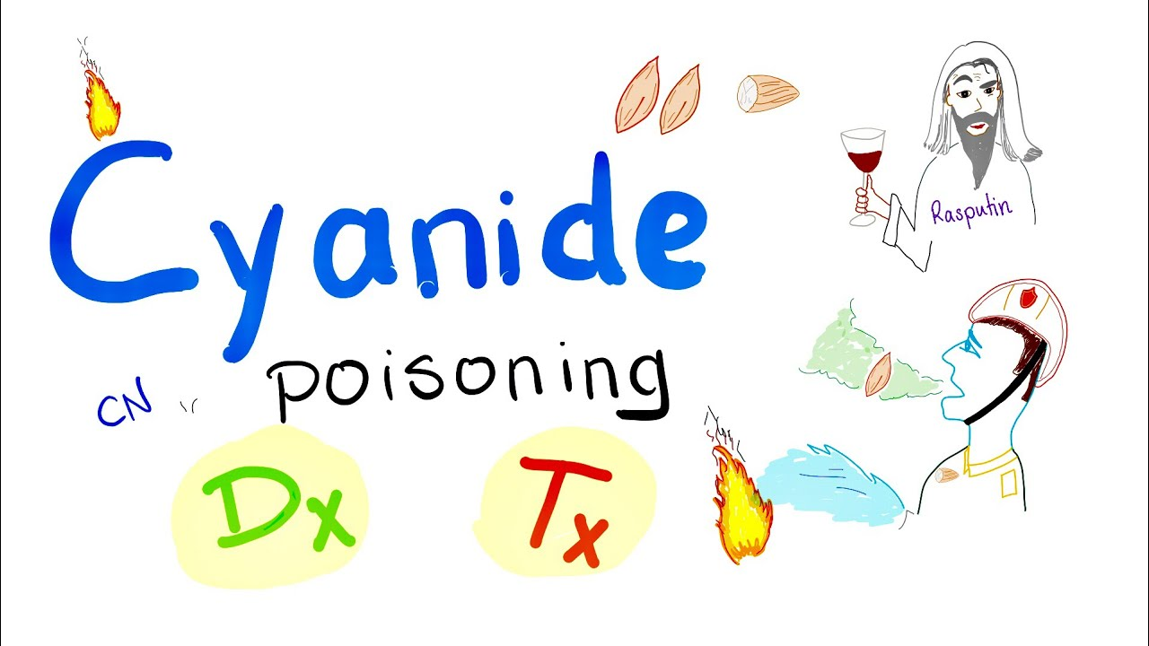 Cyanide Poisoning Diagnosis and Treatment