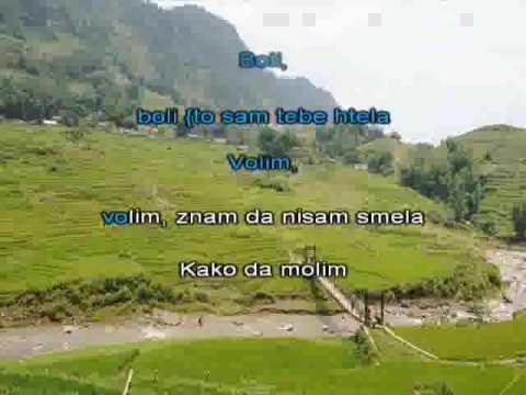Maja Nikolic   Boli [karaoke]