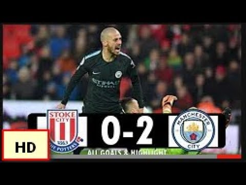 Download Stoke City vs Manchester City 0-2 All Goals 12/03/2018
