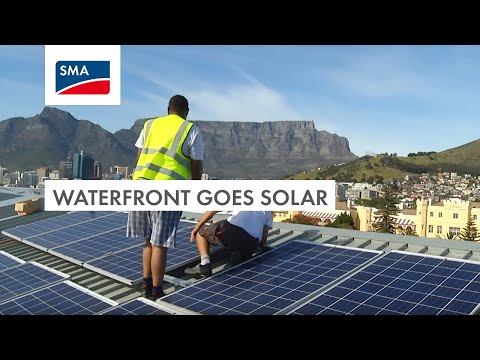 Waterfront: Africa's top tourist attraction goes solar