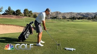 How to strike it pure with your 3-wood and Hybrids | GOLFPASS | Golf Channel