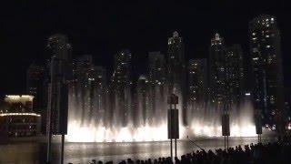 Dubai Mall - Dancing Fountain ~ Shot on my iPhone 6s Plus