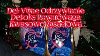Del Vitae -odżywianie detoks i równowaga kwasowo-zasadowa w kapsułce!