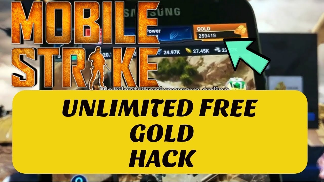 Mobile Strike Hack & Cheats - Mobile Strike Free Gold Android/IOS