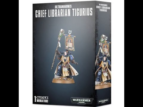 Games Workshop : Chief Libarian Tigurius : 28mm Scale Model : In Box Review