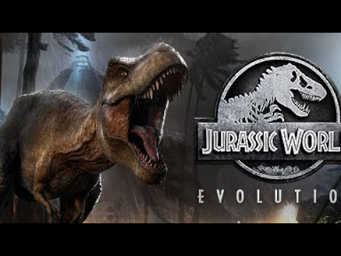 WE PLAYED JURASSIC WORLD EVOLUTION!! Gameplay! Science, Secu