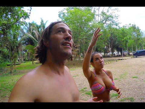 Belize Travels: San Ignacio, Mayan Ruins & Cave Tubing - DJI Phantom Drone GoPro [Part 1]