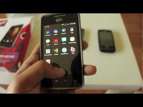 LG Optimus Elite Virgin Mobile review and comparison with LG Optimus V.