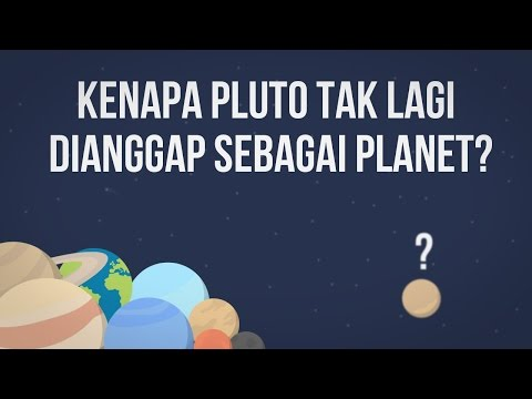 Kenapa Pluto Tidak Lagi Dianggap Sebagai Planet?