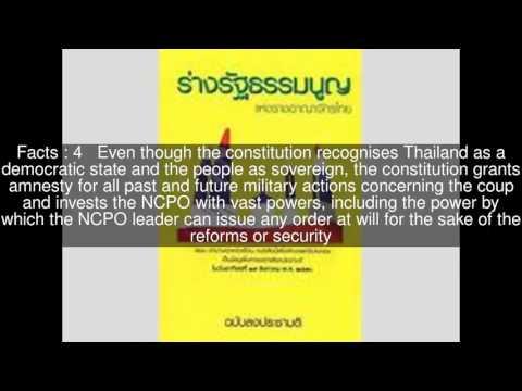 2014 interim constitution of Thailand Top  #5 Facts