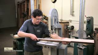 How To Build A Bass Guitar - Step #6 - Sculpting The Neck On A Bandsaw