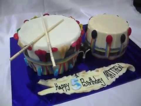 How To Make A Bongo Cake