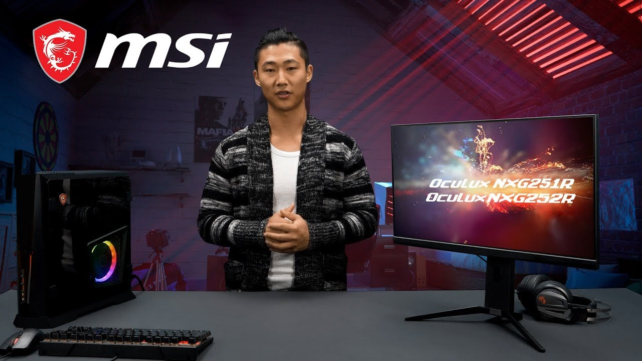 MSI Oculux NXG252R – All about eSports | Gaming Monitor | MSI