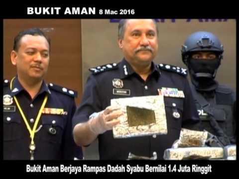 MKL Crimedesk | Bukit Aman Berjaya Rampas Dadah Syabu Bernilai 1.4 Juta Ringgit