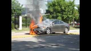 car fire caught on tape houston texas 06 01 12 courtesy of c47houston