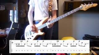 Royal Blood - She's Creeping Bass cover with tabs