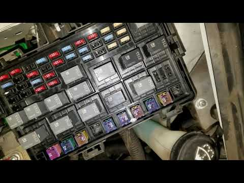 Chevy Uplander Fuses and Relays - AC, Fuel Pump ETC - YouTubeYouTube