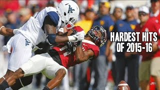 Hardest Hits of the 2015-16 College Football Season || Part 1 ᴴᴰ