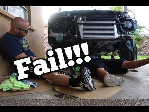 9th gen Civic Turbo Kit install Part 2 Fail