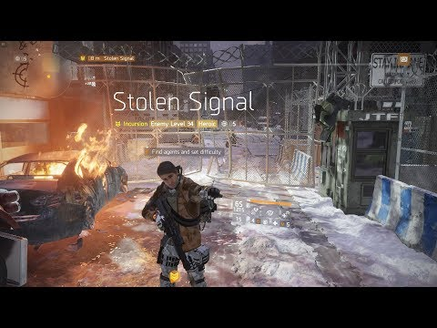 The Division | Heroic Stolen Signal Solo [As Far as Possible]