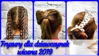 20 pomysłów 🎀 na modne fryzury dla dziewczynek wiosna 2019