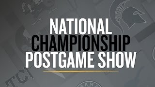 National Championship Postgame Show 2016