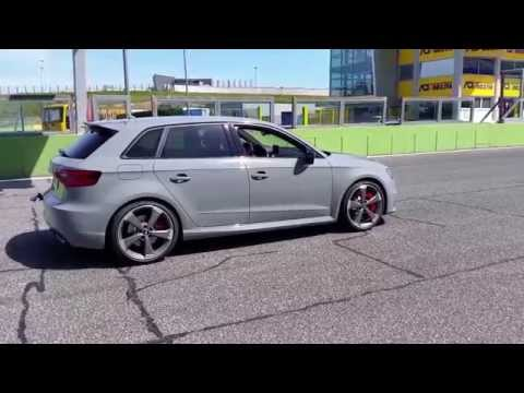 Excellent Audi RS3 2016  Test Launch Control Amp Sound  FunnyDogTV