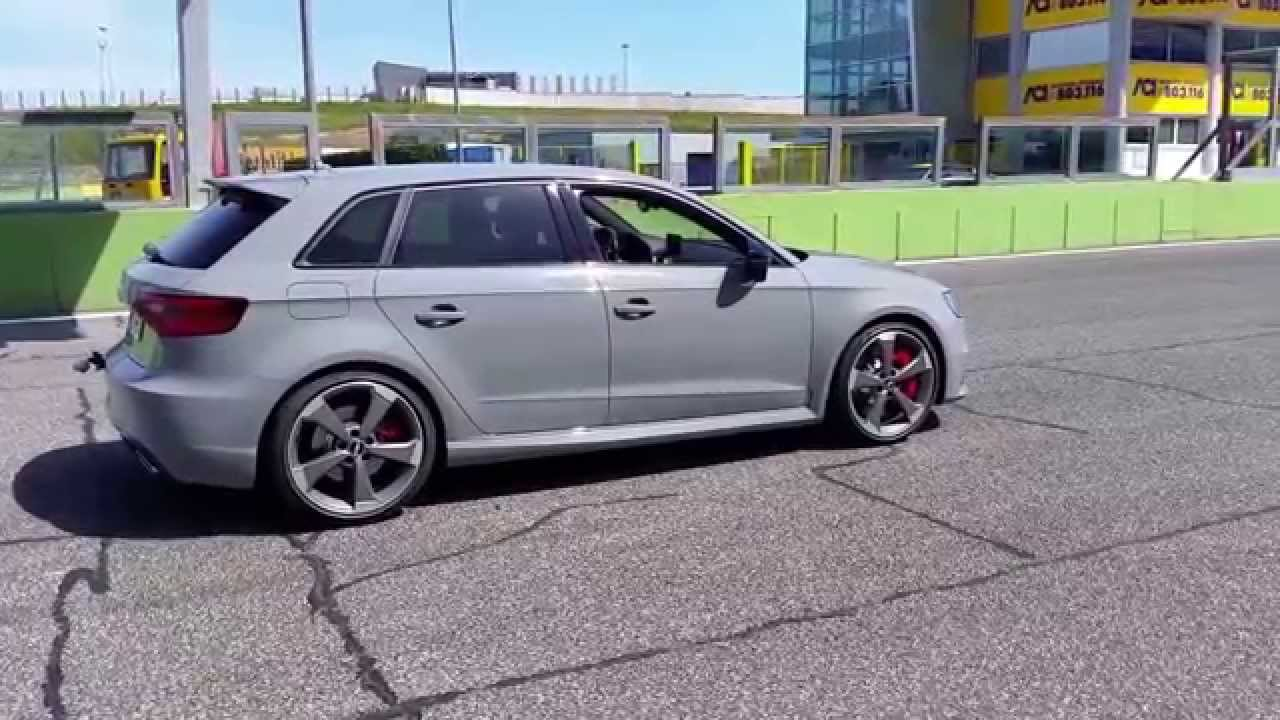 Audi RS3 Sportback: launch control - YouTube
