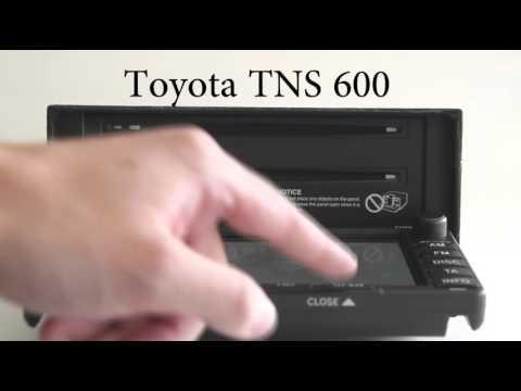 Toyota TNS600 B9000 Navigationssystem / Reparatur / Meisterhand-Service