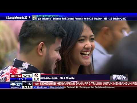 Artis Rizky Febian Hibur Peserta Hari Sumpah Pemuda di Istana Bogor