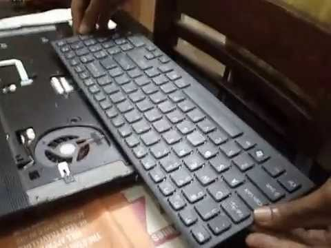 How To Remove Sony Vaio E Series Keyboard Sony Vaio E