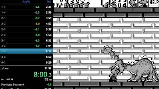 Popeye 2 Game Boy Any% Speedrun 11:44