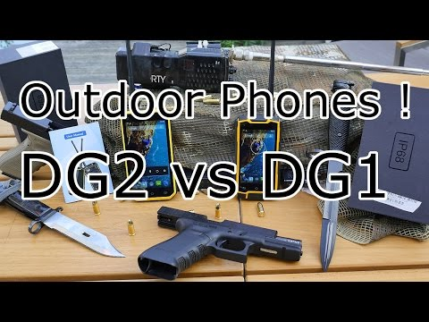 Best IP68 waterproof outdoor phone ? Digoor DG1 and DG2 Unboxing - Walkie Talkie Function ! [4K]