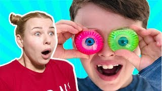 ANNEMİN HIÇKIRIK GÜNÜ! Funny Kid and Non-stop Mom Hiccups, fun kid video Pretend Playtime