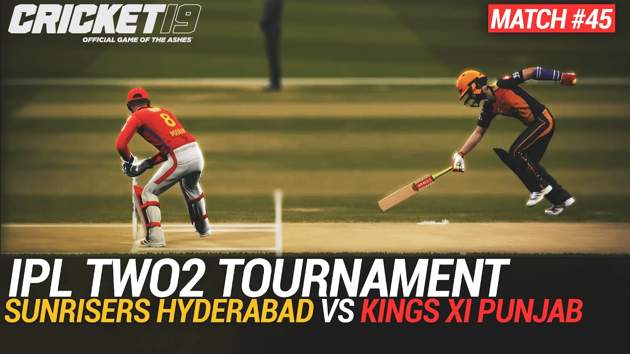 CRICKET 19 - IPL2020 TWO2 - MATCH #45 - SUNRISERS HYDERABAD vs KINGS XI PUNJAB