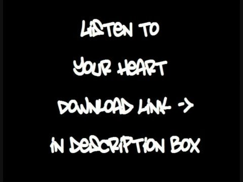 Listen To Your Heart - DHT Ft. Edmee - Download Link