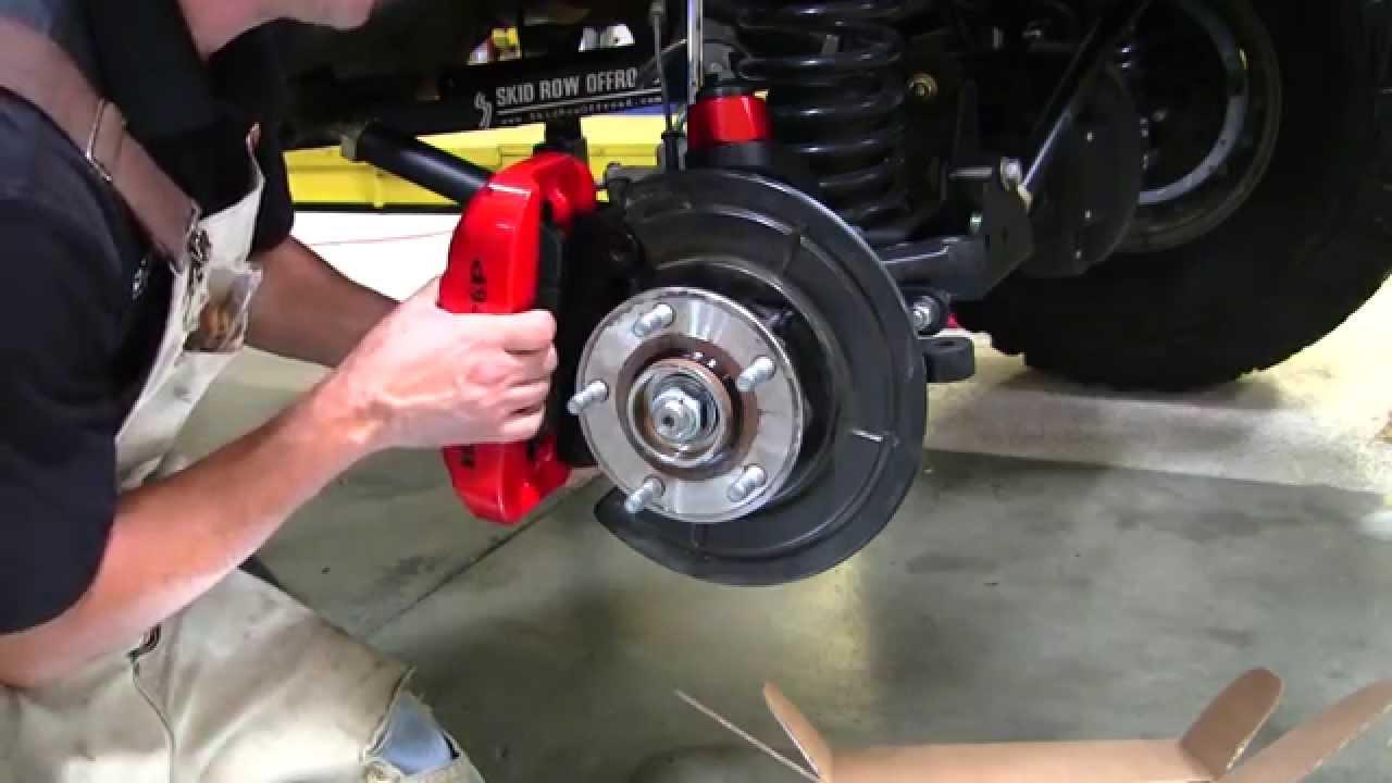 Installing Baer Brakes On A 2007 Jeep Wrangler X Jk