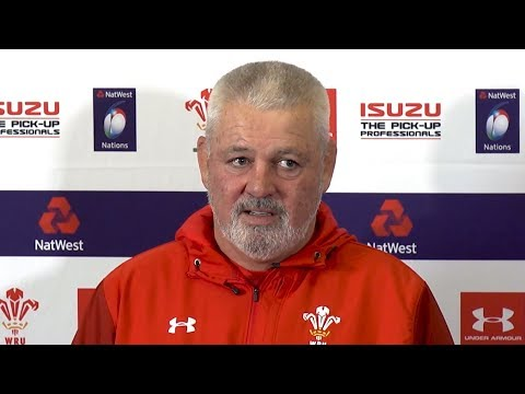 Warren Gatland Pre-Match Press Conference - England v Wales - Six Nations