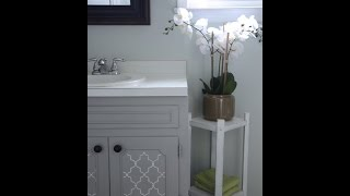 How To Paint A Bathroom Vanity: Diy Makeover - Thrift Diving Blog